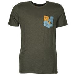 textil Herr T-shirts Jack & Jones TROPICAL ORIGINALS Svart