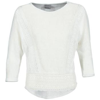 textil Dam Långärmade T-shirts Vero Moda MYBELLA Vit