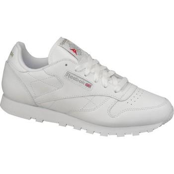 Skor Dam Sneakers Reebok Sport Classic Leather 50151 Blanc