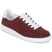 Skor Dam Sneakers Yurban EMARTI Bordeaux