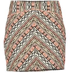 textil Dam kjolar Moony Mood ELIZA Flerfärgad