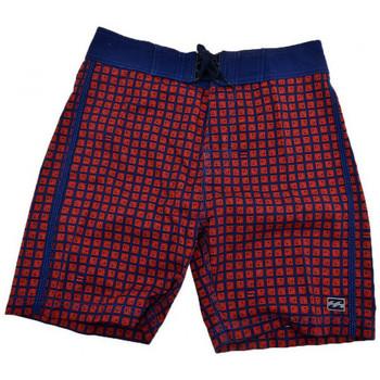 textil Herr Shorts / Bermudas Billabong  Röd