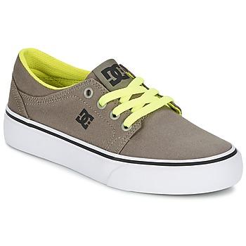Skor Pojk Sneakers DC Shoes TRASE TX Mullvadsfärgad