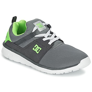 Skor Pojk Sneakers DC Shoes HEATHROW Grå / Vit / Grön
