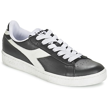 Skor Sneakers Diadora GAME L LOW Svart / Vit