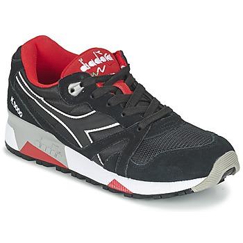 Skor Sneakers Diadora N9000 NYLON II Svart / Röd