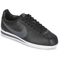 Skor Herr Sneakers Nike CLASSIC CORTEZ LEATHER Svart / Grå
