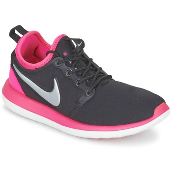 Skor Flick Sneakers Nike ROSHE TWO JUNIOR Svart / Rosa