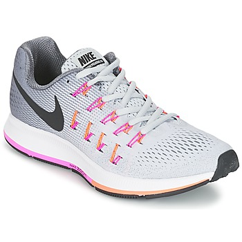 Skor Dam Löparskor Nike AIR ZOOM PEGASUS 33 W Grå / Rosa