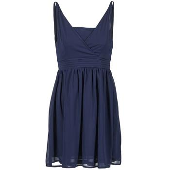 textil Dam Korta klänningar Betty London ESQUIVI Marin
