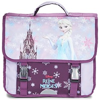 Väskor Flick Skolväskor Disney REINE DES NEIGES CARTABLE 38CM Lila
