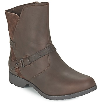 Skor Dam Boots Teva DELAVINA LOW Brun