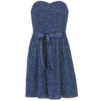 textil Dam Korta klänningar Morgan RPEPS Marin