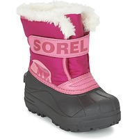 Skor Barn Vinterstövlar Sorel CHILDRENS SNOW COMMANDER Rosa