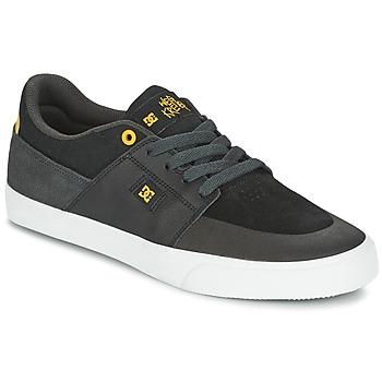 Skor Herr Sneakers DC Shoes WES KREMER Svart / Grå / Gul