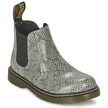 Skor Barn Boots Dr Martens BANZAI ASP Grå / Ljus