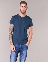 textil Herr T-shirts BOTD ECALORA Marin