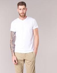 textil Herr T-shirts BOTD ECALORA Vit