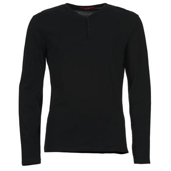 textil Herr Långärmade T-shirts BOTD ETUNAMA Svart