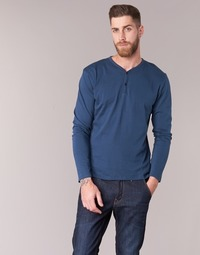 textil Herr Långärmade T-shirts BOTD ETUNAMA Marin