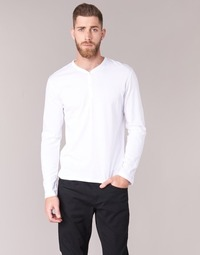 textil Herr Långärmade T-shirts BOTD ETUNAMA Vit
