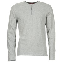 textil Herr Långärmade T-shirts BOTD ETUNAMA Grå / Melerad