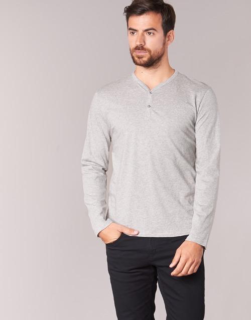 textil Herr Långärmade T-shirts BOTD ETUNAMA Grå