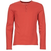 textil Herr Långärmade T-shirts BOTD ETUNAMA Röd
