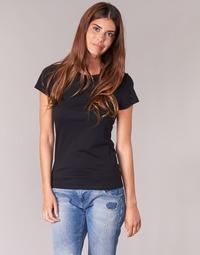 textil Dam T-shirts BOTD EQUATILA Svart
