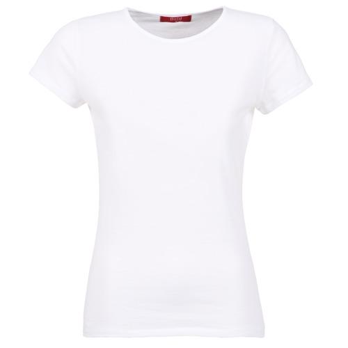 textil Dam T-shirts BOTD EQUATILA Vit