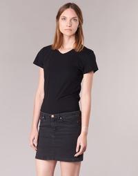 textil Dam T-shirts BOTD EFLOMU Svart