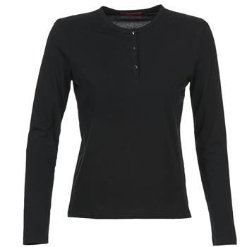 textil Dam Långärmade T-shirts BOTD EBISCOL Svart