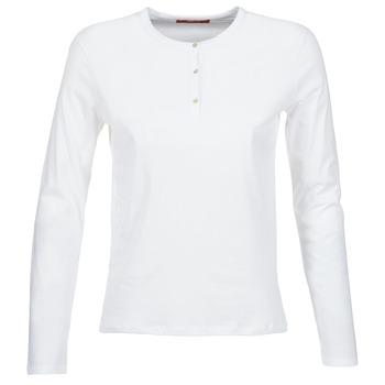 textil Dam Långärmade T-shirts BOTD EBISCOL Vit