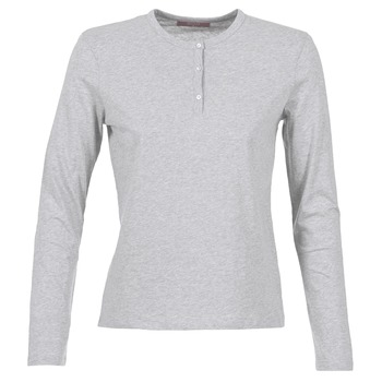 textil Dam Långärmade T-shirts BOTD EBISCOL Grå