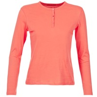 textil Dam Långärmade T-shirts BOTD EBISCOL Korall