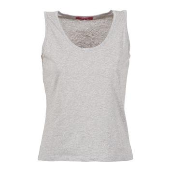 textil Dam Linnen / Ärmlösa T-shirts BOTD EDEBALA Grå