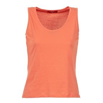 textil Dam Linnen / Ärmlösa T-shirts BOTD EDEBALA Orange