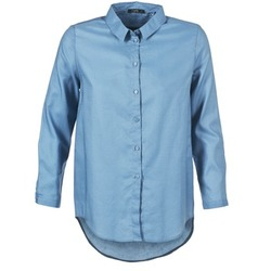 textil Dam Skjortor / Blusar School Rag CHELSY Blå