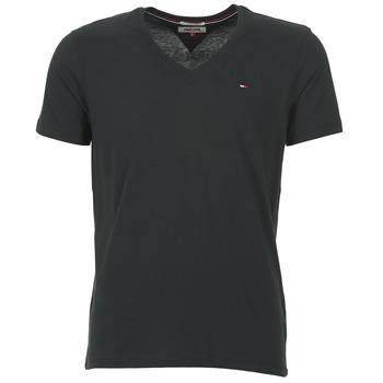 textil Herr T-shirts Tommy Jeans MALATO Svart