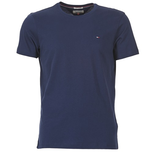 textil Herr T-shirts Tommy Jeans OFLEKI Marin