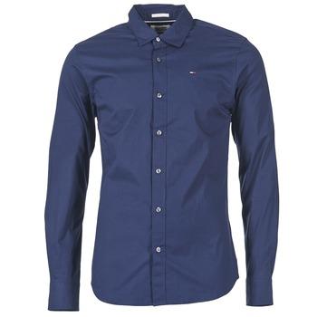 textil Herr Långärmade skjortor Tommy Jeans KANTERMI Marin