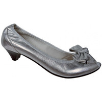 Skor Dam Pumps Keys  Silver