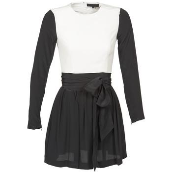 textil Dam Korta klänningar American Retro STANLEY Svart / Vit