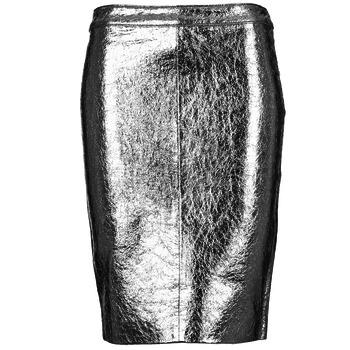 textil Dam Kjolar American Retro DOROTHA Silverfärgad