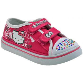 Skor Barn Sneakers Hello Kitty  Rosa