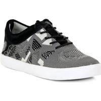 Skor Dam Sneakers Clarks GLOVE GLITTER Nero