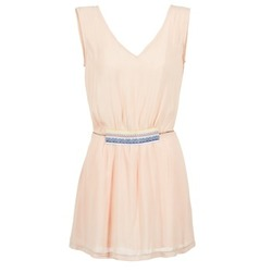 textil Dam Korta klänningar Moony Mood EARINE Rosa
