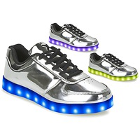 Skor Dam Sneakers Wize & Ope THE LIGHT Silver