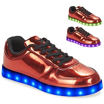 Skor Dam Sneakers Wize & Ope POP Röd