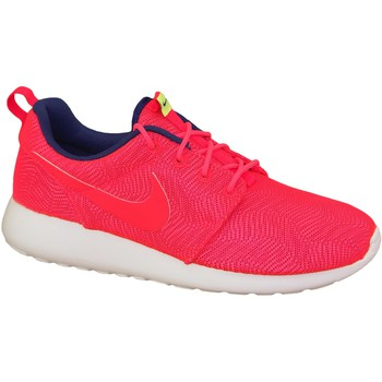 Skor Dam Sneakers Nike Roshe One Moire Wmns 819961-661 Red